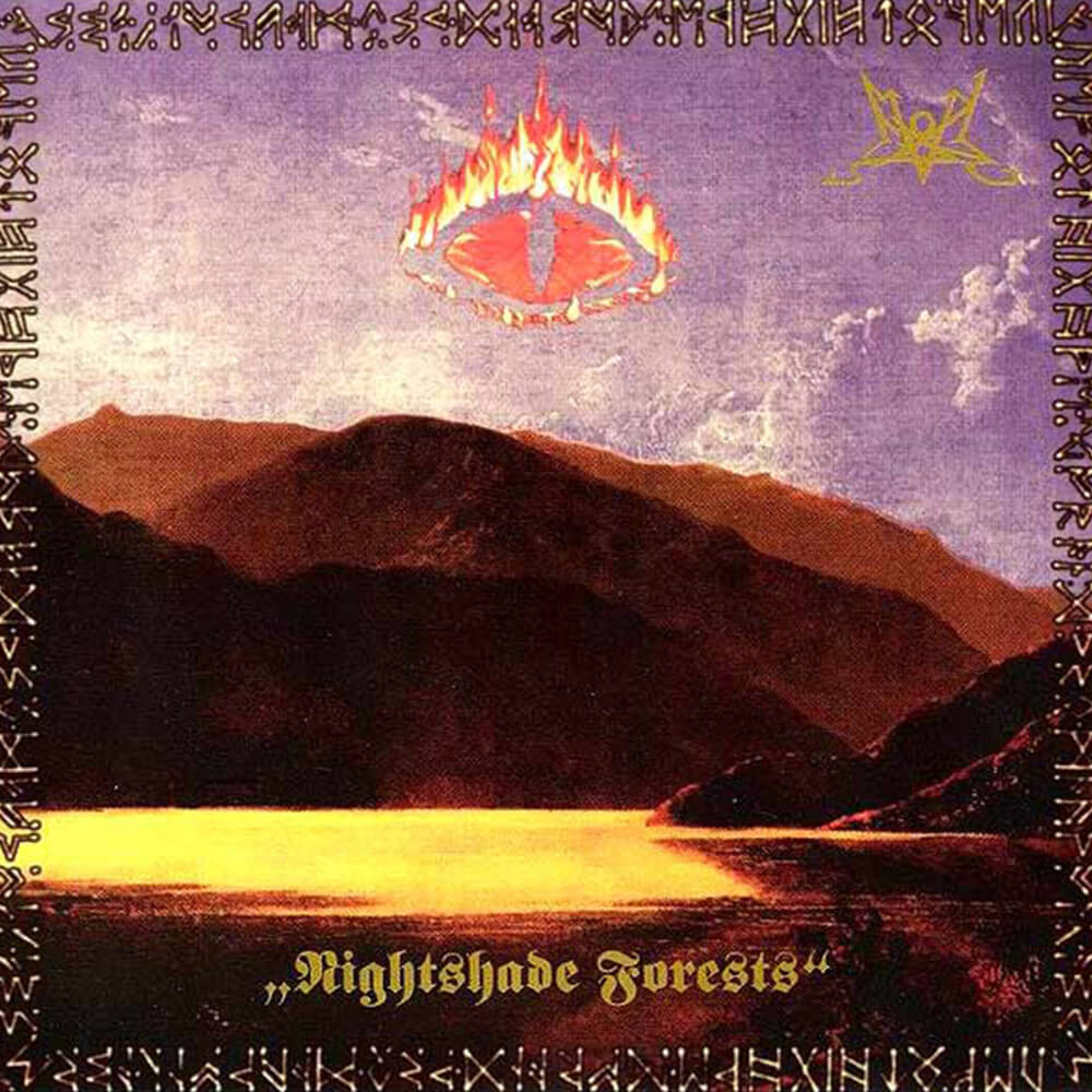 CD Cover Summoning Nightshade Forests